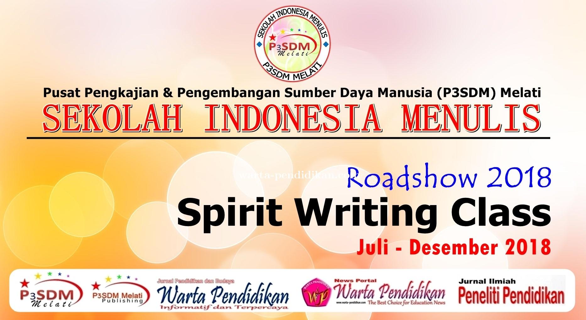 Bangun Budaya Literasi Nasional, P3SDM Melati Kembangkan Sistem Workshop di Daerah