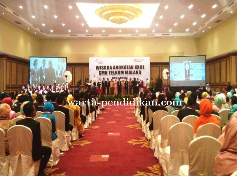 SMK Telkom Malang Wisuda 353 Siswa Angkatan XXIII